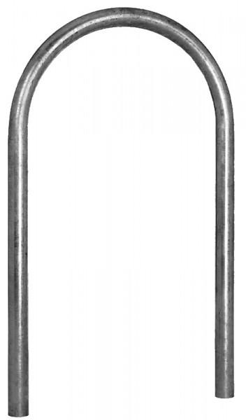 U-förmiger Stahlrohrbügel als Universal-Absperrbügel oder Fahrradbügel