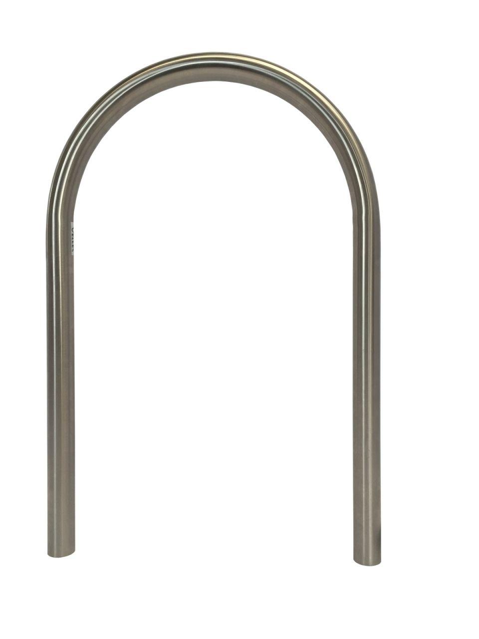 Veller® Edelstahl Fahrradanlehnbügel Isar 1 VA geschliffen / Fahrradständer