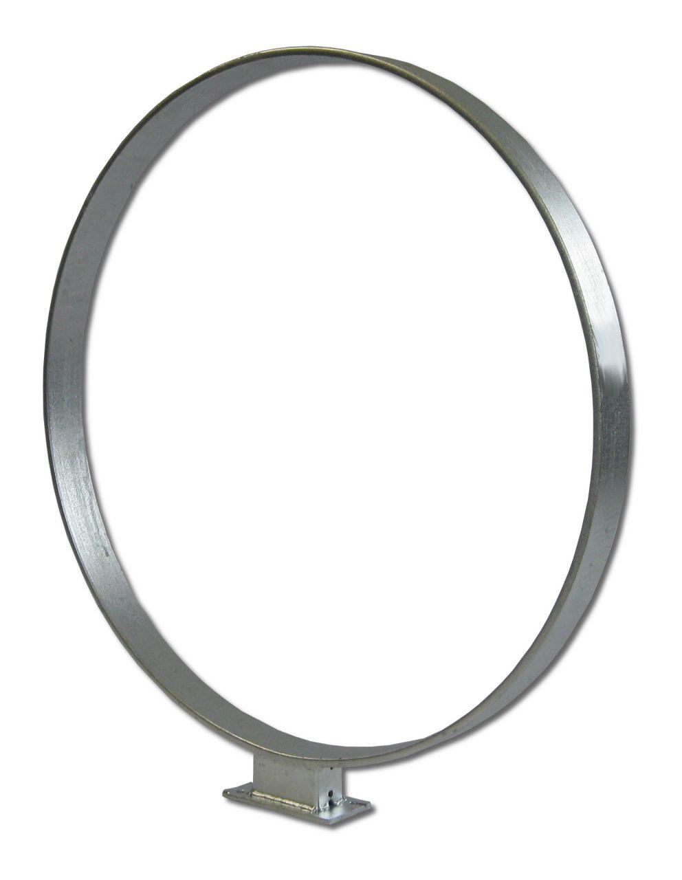 Veller® Fahrradanlehnbügel Ring / Flachstahl-Anlehnbügel