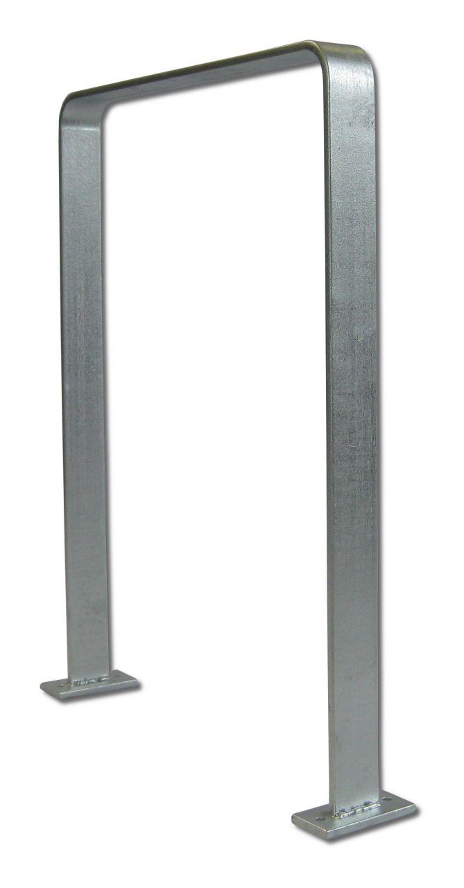 Veller® Anlehnbügel Ems aus Flachstahl / Fahrradparker