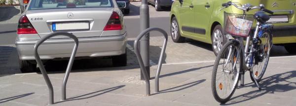 Fahrradbügel in Frankfurt - Model: