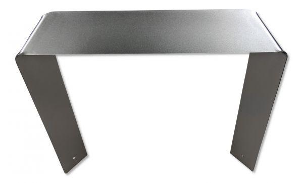 Design-Kennzeichenhalter aus Edelstahl für Parkplatzschilder / Parkplatzreservierung